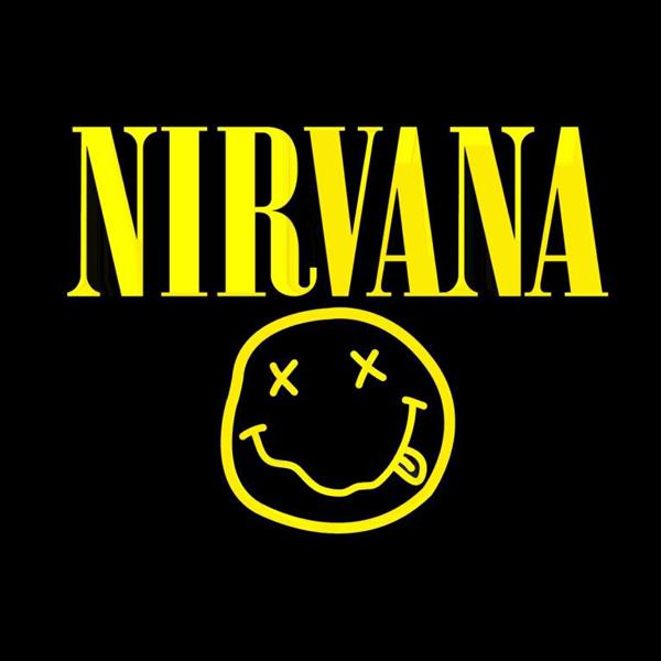 Logo band Nirvana (source : zwallpix.com)