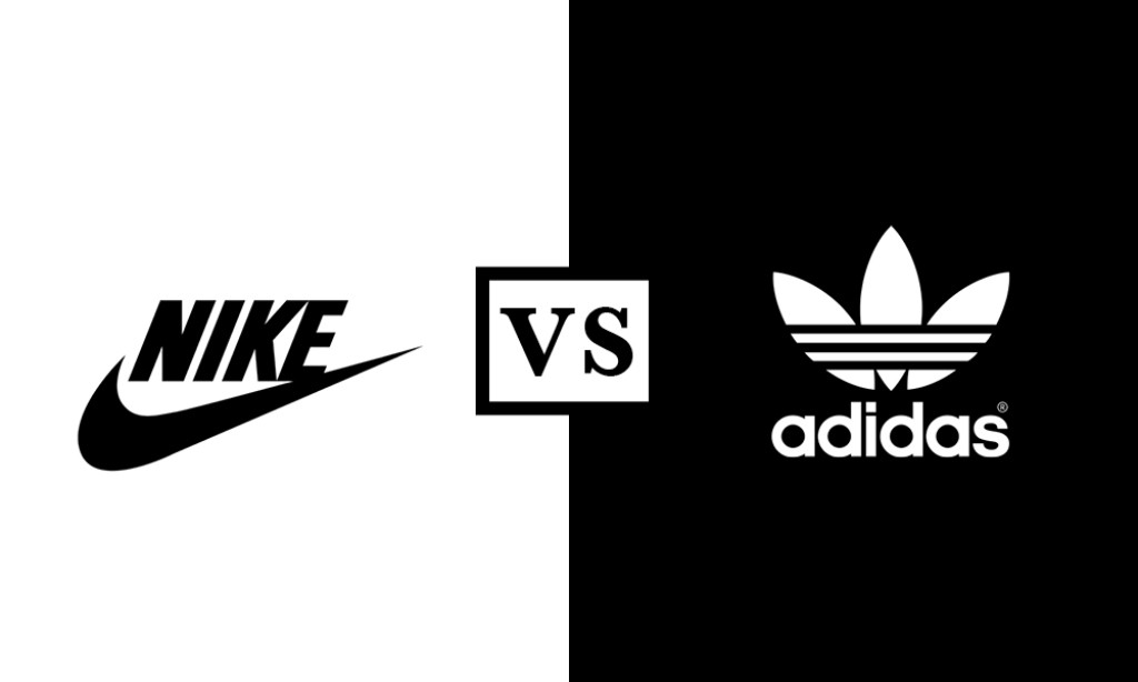 Nike vs Adidas (source : thehundreds.com)
