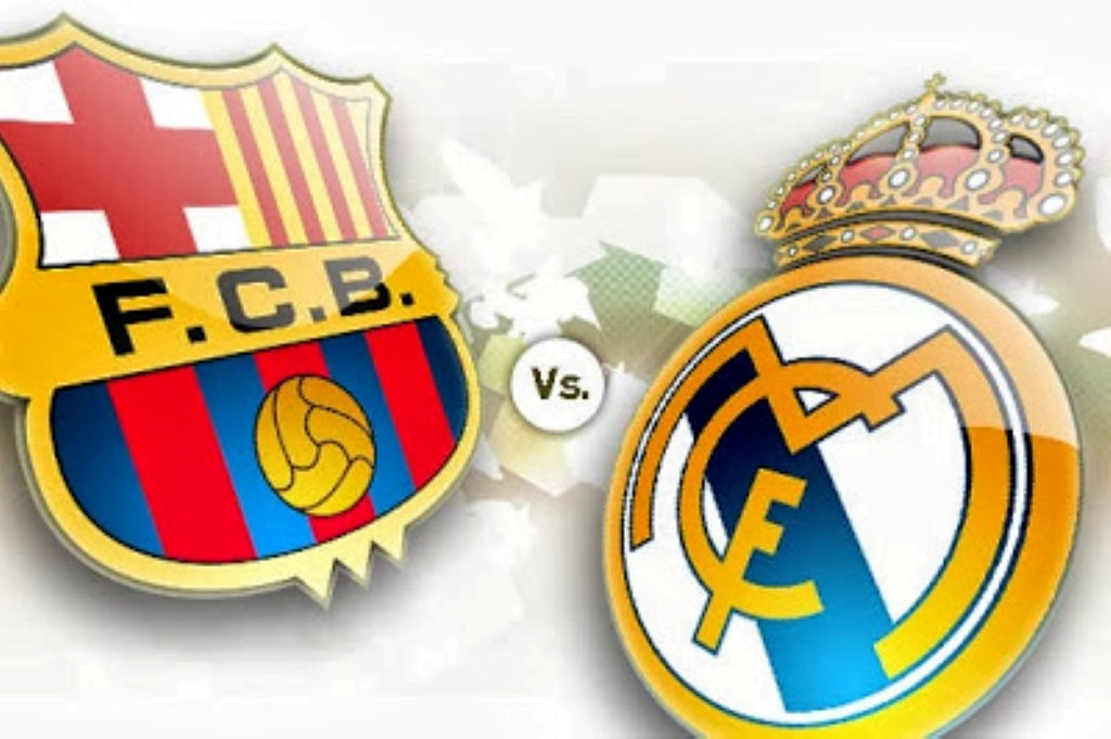 Barcelona vs Madrid (source : luxybet168.com)