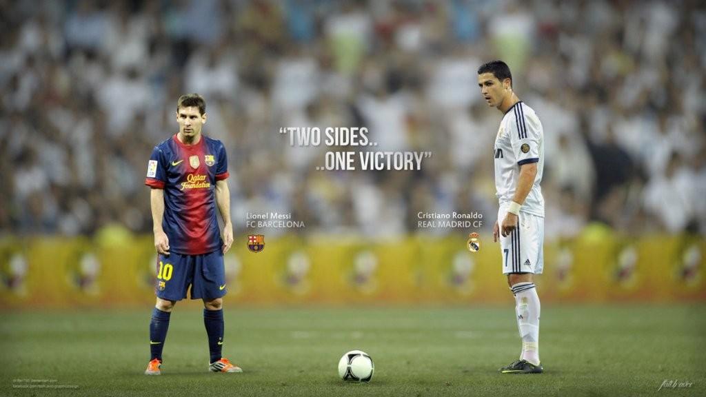 Lionel Messi vs Cristiano Ronaldo (source : scaryfootball.com)